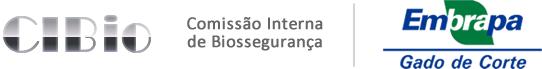 Logo da Comissão Interna de Biossegurança