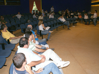 Empregados no Workshop Interno